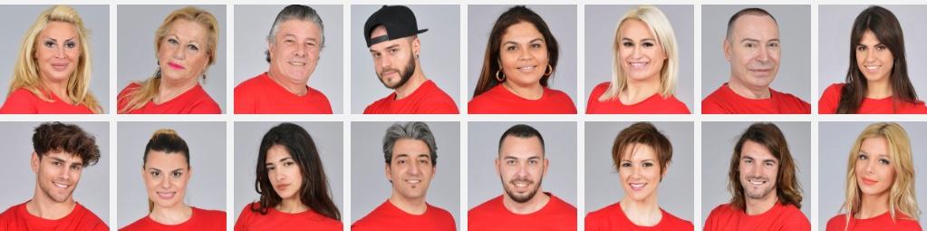Supervivientes 2018 concursantes